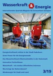 Wasserkraft & Energie 3/2019
