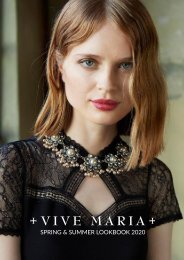 Lookbook VIVE MARIA Spring & Summer 2020
