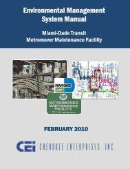 Environmental Management System Manual - Miami-Dade Portal
