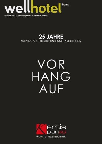 wellhotel Sonderheft 25 Jahre Artis Plan