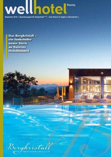wellhotel Sonderheft Das Bergkristall Resort