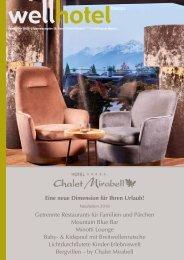 wellhotel Sonderheft Hotel Chalet Mirabell