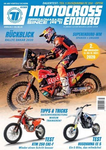 Motocross Enduro Ausgabe 03/2020