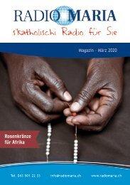 Radio Maria Magazin - März 2020