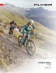 FLYER e-Bikes Produktkatalog 2020
