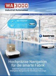 WA3000 Industrial Automation Februar 2020 deutschsprachige Ausgabe