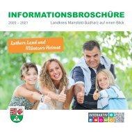 Informationsbroschüre Landkreis Mansfeld-Südharz auf einen Blick 2020 - 2021