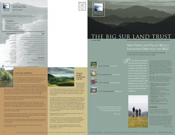 Spring 2007 Newsletter - Big Sur Land Trust