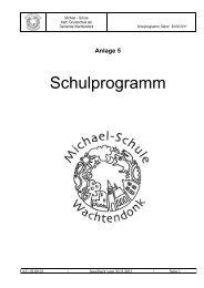 Anlage 5 - Michael Grundschule Wachtendonk