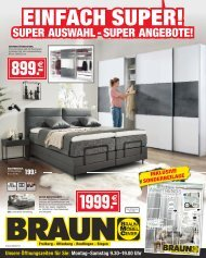2020/07 - Möbel Braun ET: 13.02.2020