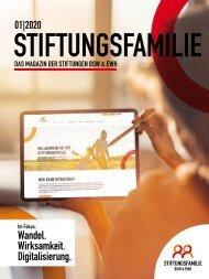 Stiftungsfamilie - Ausgabe 01/2020