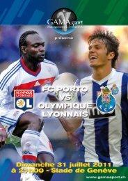 Football: Olympique Lyonnais - FC Porto