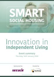 Innovation in Independent Living North West Southway 2020
