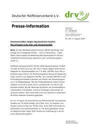 Presse-Information - Der DRV