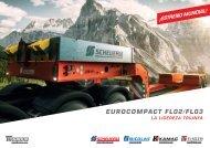 Semirremolque Scheuerle de cama baja EuroCompact FL