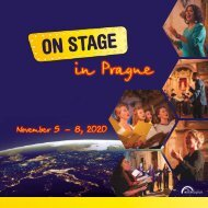 ON STAGE Prague 2020 - Brochure