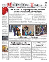 Mountain Times Volume 49, Number 7: Feb. 12-18, 2020