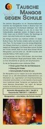 Mango-Handzettel 2012 - Kirchen im Kreis Böblingen