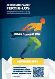 AUSBILDUNGSPLÄTZE - FERTIG - LOS | Landkreis Stade, Landkreis Cuxhaven, Landkreis Rotenburg-Wümme, Bremerhaven 2020