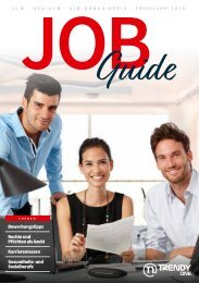 TRENDYone | Job Guide Frühjahr 2019 | Region Ulm / Neu-Ulm