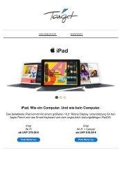 Unsere beliebtesten iPads