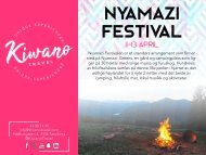 Nyamazi Festival