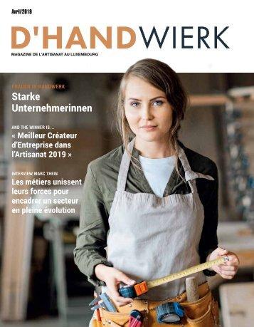 D'HANDWIERK APRIL 2019