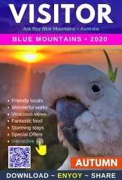 Blue Mountains Visitor - Autumn 2020