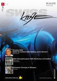 SGC-Chirurgiekongress 2009 - SWISS KNIFE