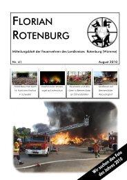Feuerwehr Ottingen feierte 75jähriges Bestehen ... - Florian Rotenburg
