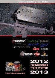Produktkatalog freie Waffen - ESC GmbH