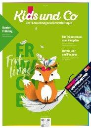 Kids und Co Ostthüringen, Ausgabe Frühling 2020