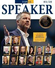 Top Speaker Beilage im Capital Magazin 03/20