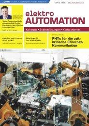 elektro AUTOMATION 01-02.2020