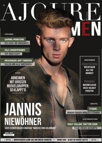 AJOURE´ Men Magazin März 2020
