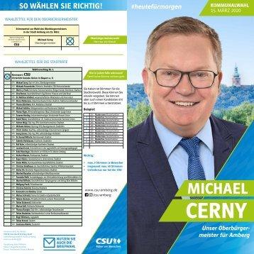 CSU Amberg Kandidatenübersicht