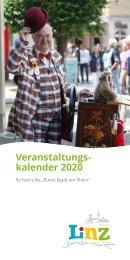 Veranstaltungskalender der Stadt Linz 2020