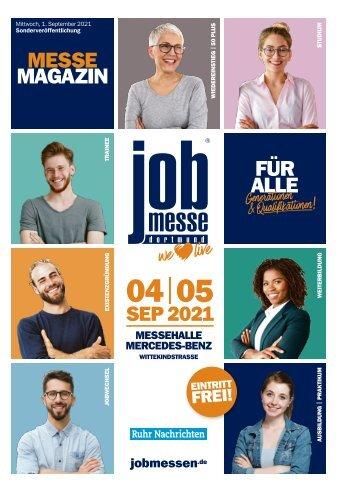 MesseMagazin zur 12. jobmesse dortmund