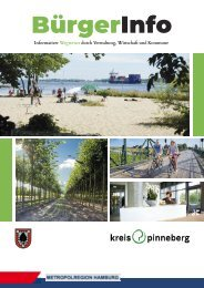 BürgerInfo Pinneberg - Informativer Wegweiser durch Verwaltung, Wirtschaft und Kommune