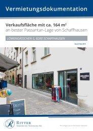 2170 VM Doku Löwengässchen 5, 8200 Schaffhausen - Stand 08.01.2020 YUMPU