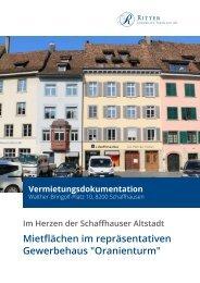 Vermietungsdokumentation Walther-Bringolf-Platz 10, 8200 Schaffhausen