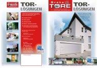 SEKTIONALTORE - Groke Türen und Tore GmbH
