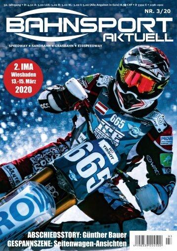 Bahnsport aktuell Ausgabe 03/2020