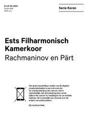 2020 02 20 Ests Filharmonisch Kamerkoor