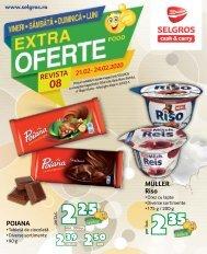 Extra oferte nr. 08 Food (promovare exclusiv online)
