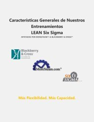 Curso de Lean Six Sigma Green Belt 1-ON-1_rev4