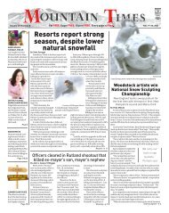 Mountain Times Volume 49, Number 8: Feb. 19-25, 2020