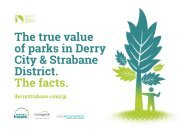 The true value of parks in Derry City & Strabane District