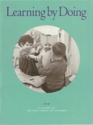 Learning by Doing: A History of The Duke School for Children