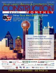 Dallas 2020 Construction Monthly